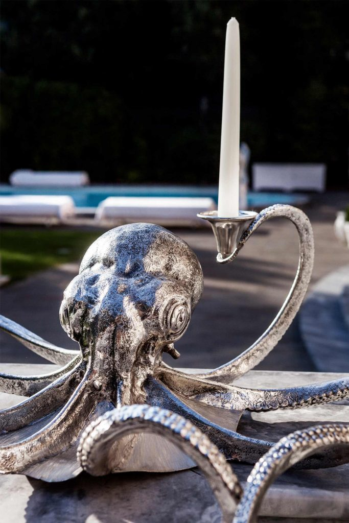 Octopus Candelholder the Royal Suite Collection