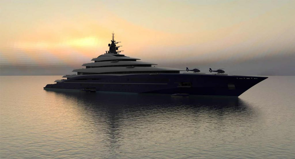 Yacht Design for DOUBLE CENTRY