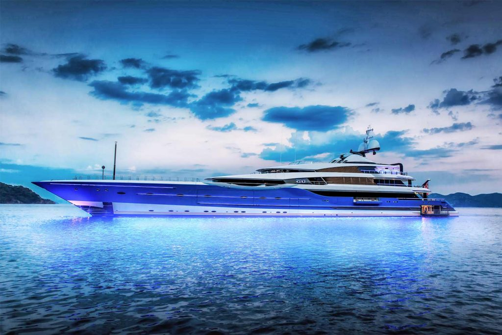 Feadship concept of MADAME GURU by Andrew Winch