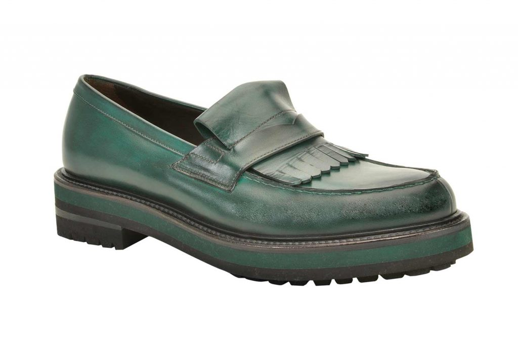 Fratelli Rossetti Green Loafers