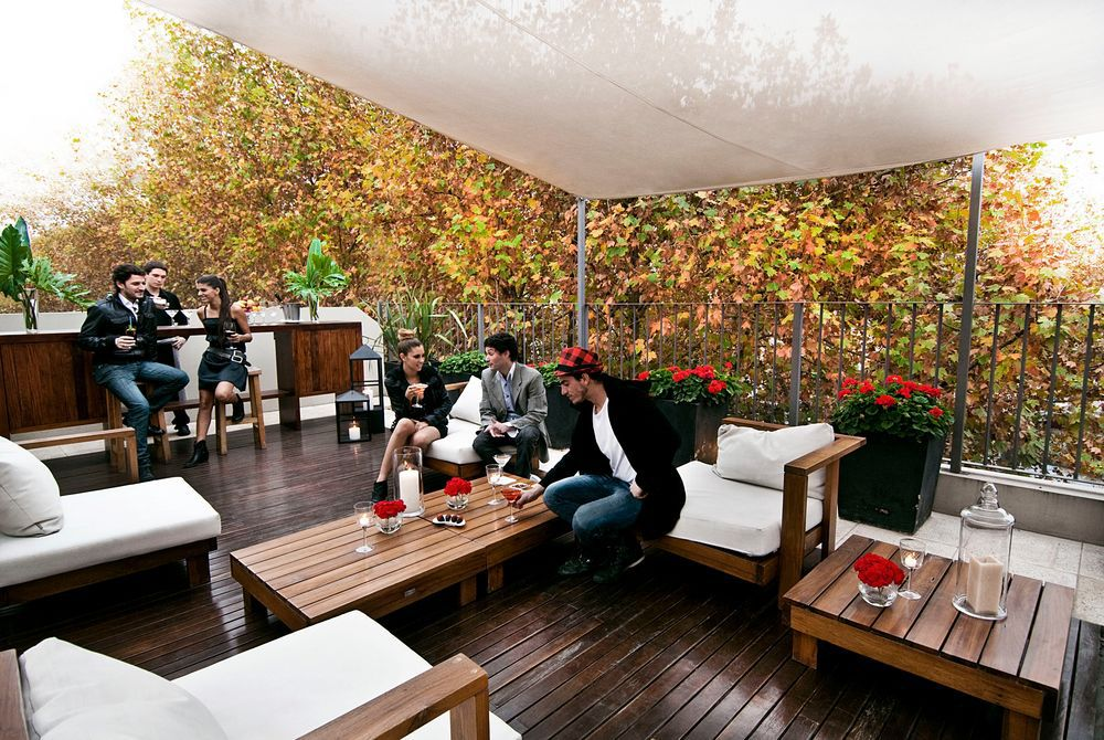 The Roof Terrace at Nuss