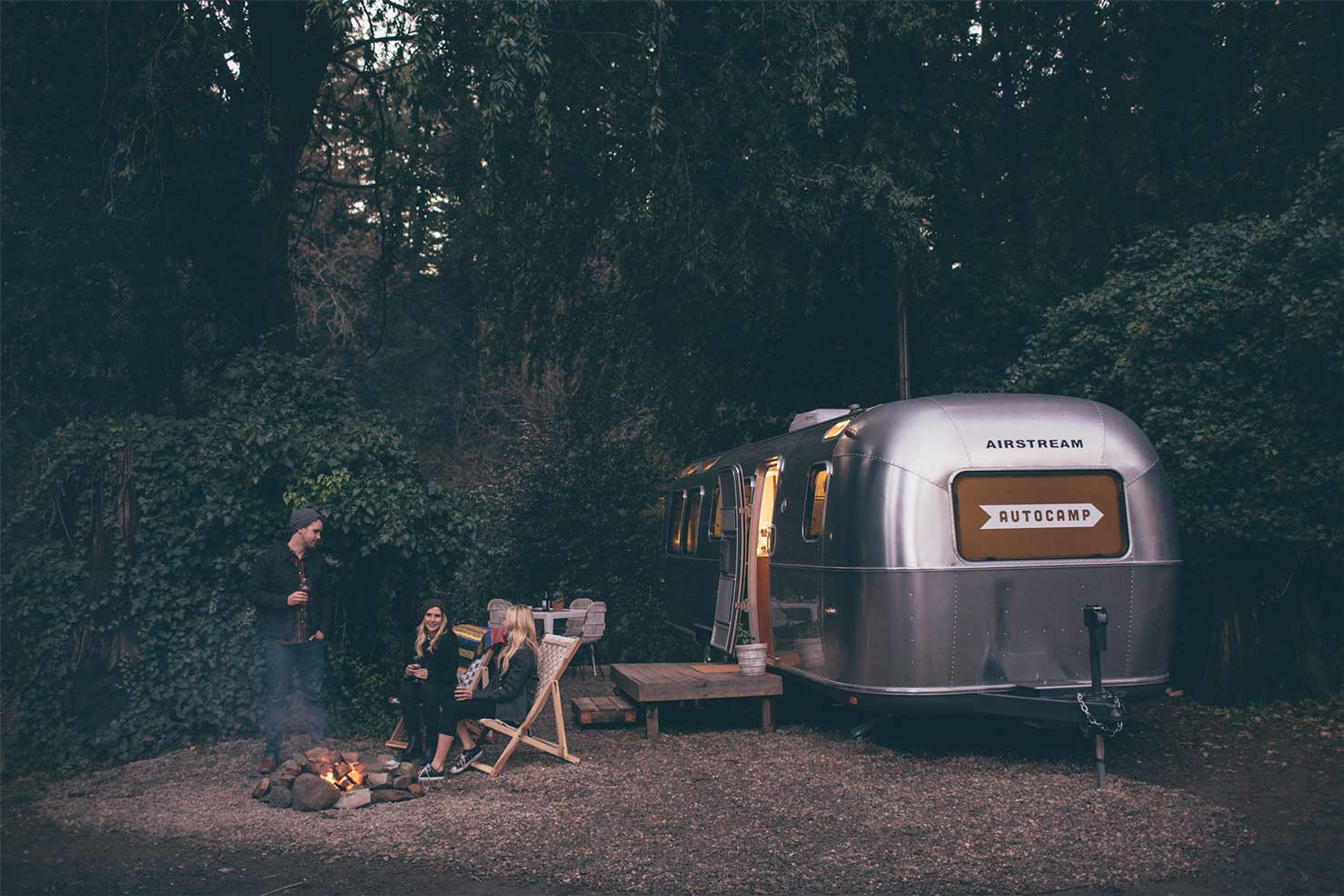 AutoCamp at Russian River in Sonoma County