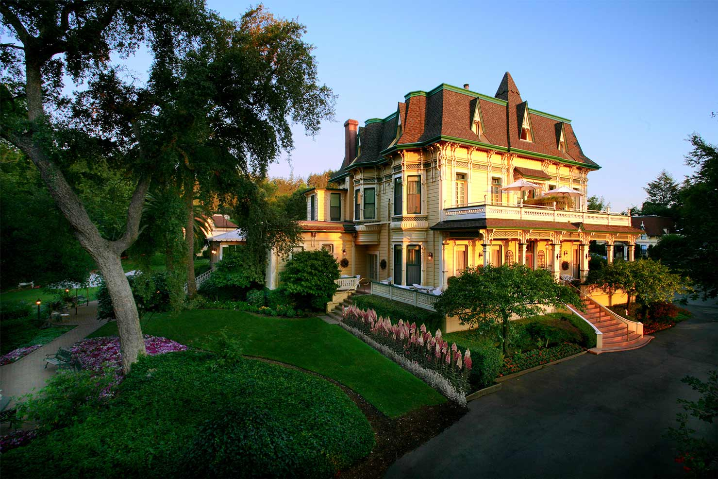 Madrona Manor in Sonoma County