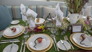 yacht tablescape