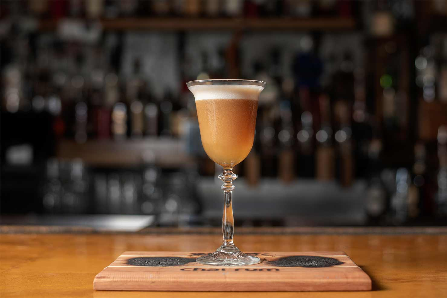 The Maple Chai Sour