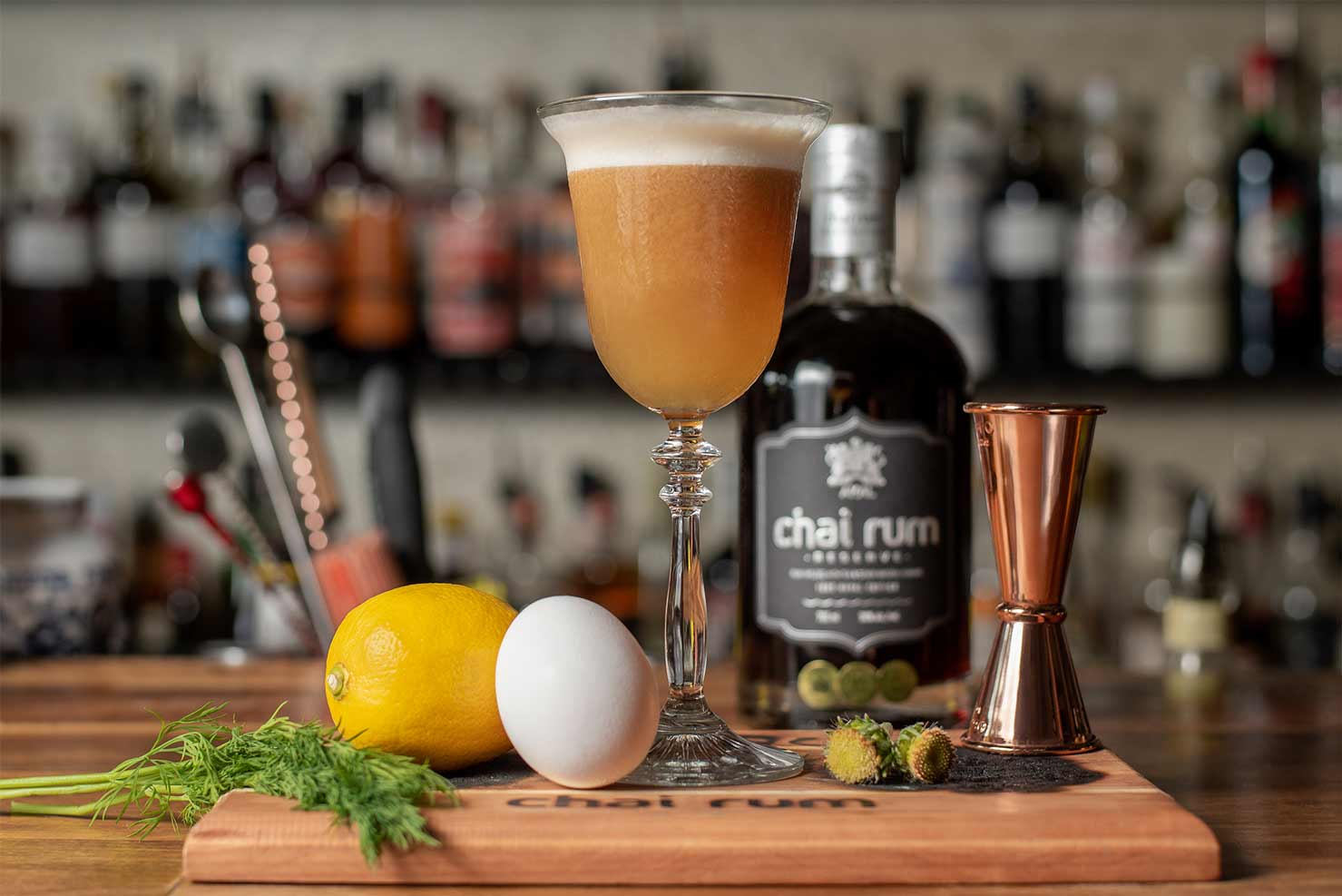 Chai Rum cocktail