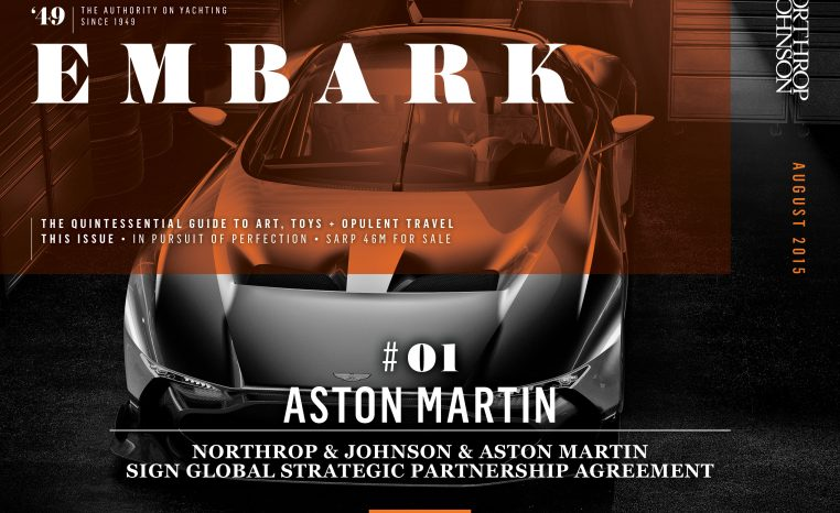 Main Embark image featuring an Aston Martin Vulcan