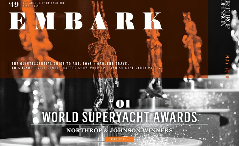 Main Embark image yacht design award statues