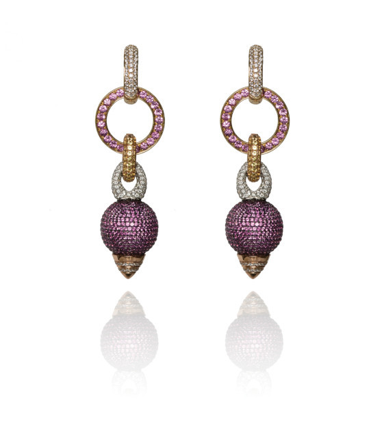 Rosa Van Parys Mary Jane Earrings