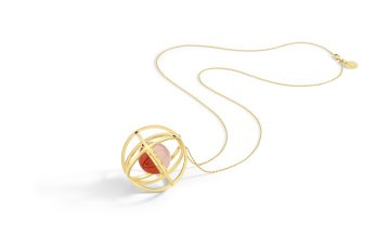 Yael Sonia Sphere Necklace