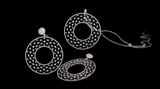 Leo Pizzo necklace and earrings