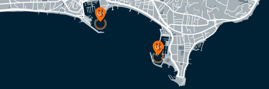 Cannes show map