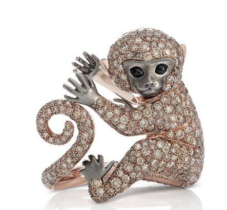 All that glitters roberto coin monkey ring