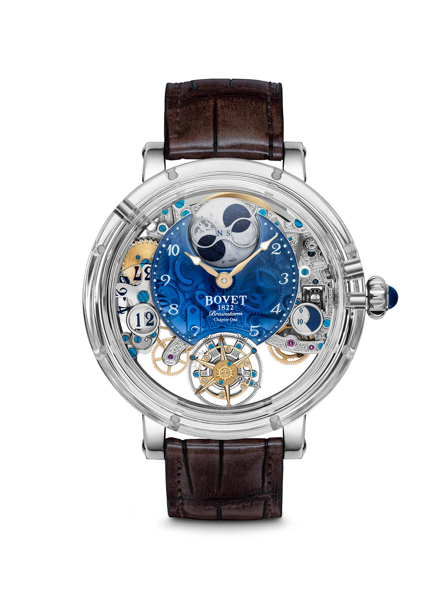 Bovet brown and blue