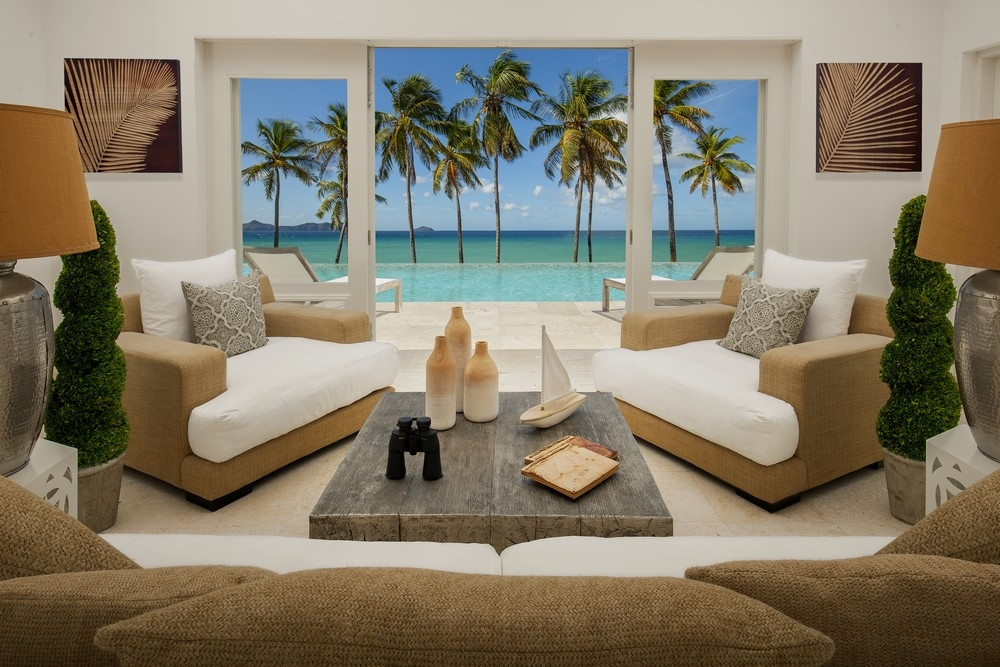 Liming Bequia hotel room with pool and sea view