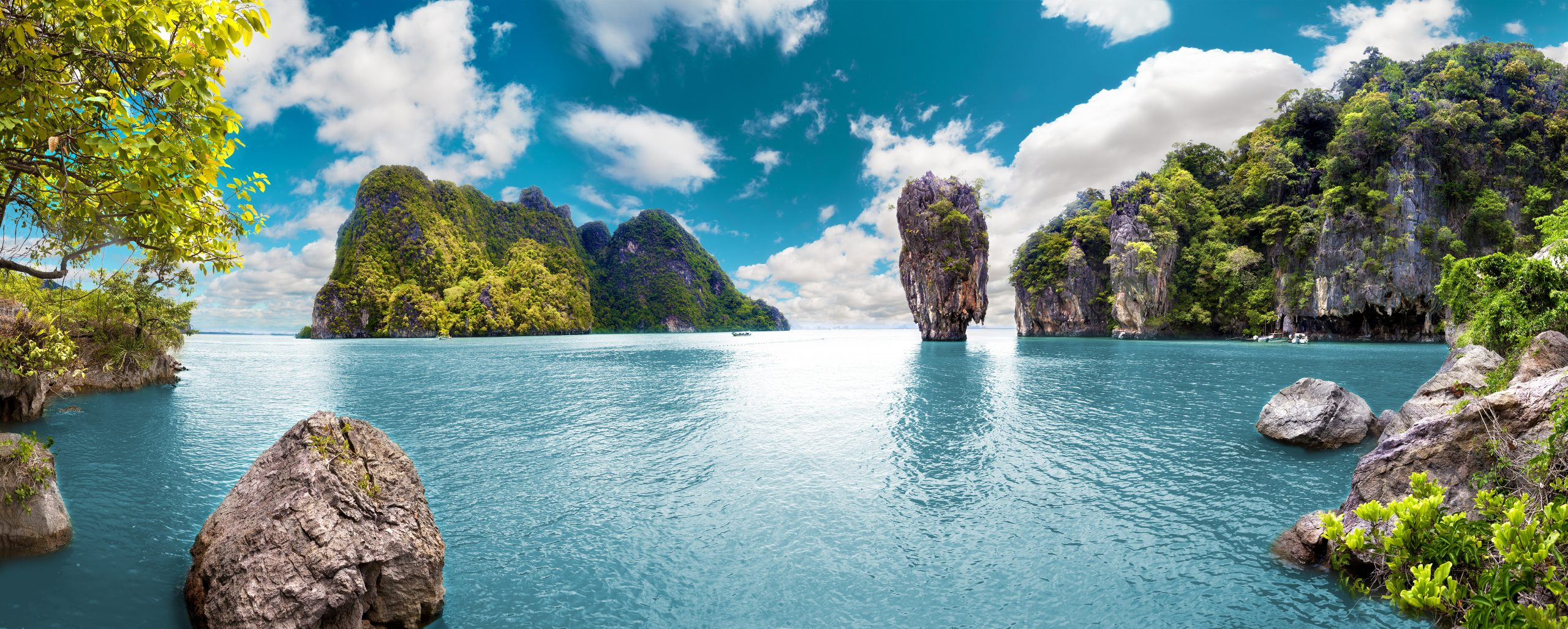 Thailand nature blue water