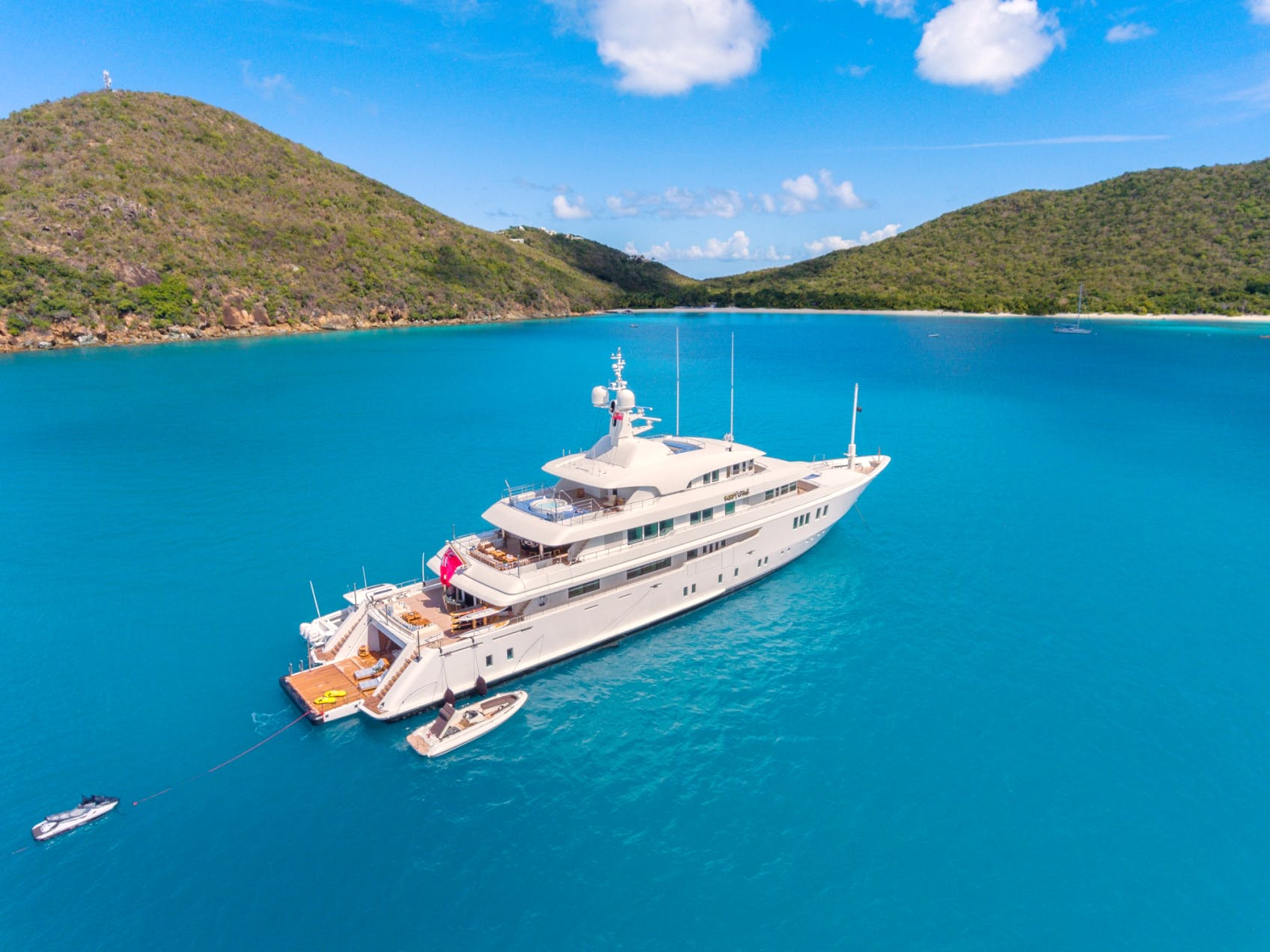 Icon Charter Yacht Party Girl Profile in the Caribbean