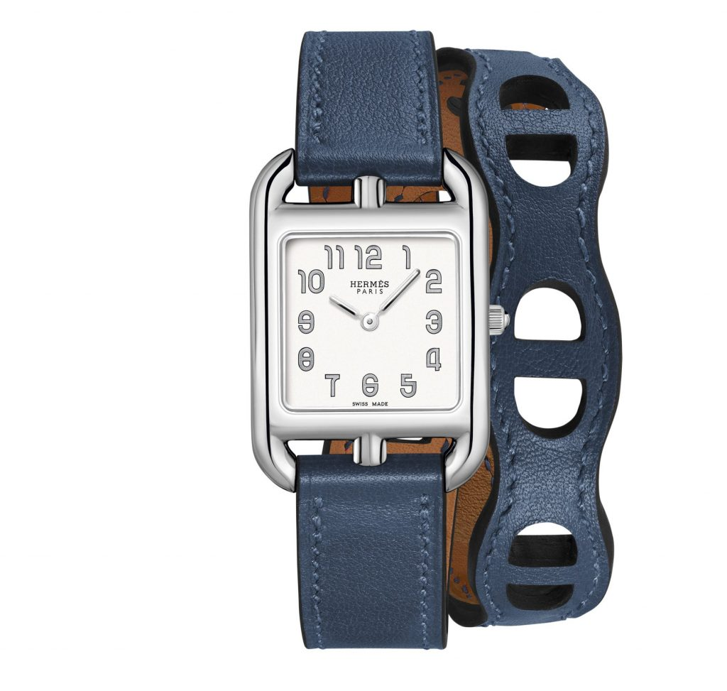 Blue Hermes watch