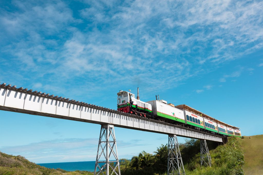 St. Kitts Scenic Railway, the last of its kind in the Caribbean