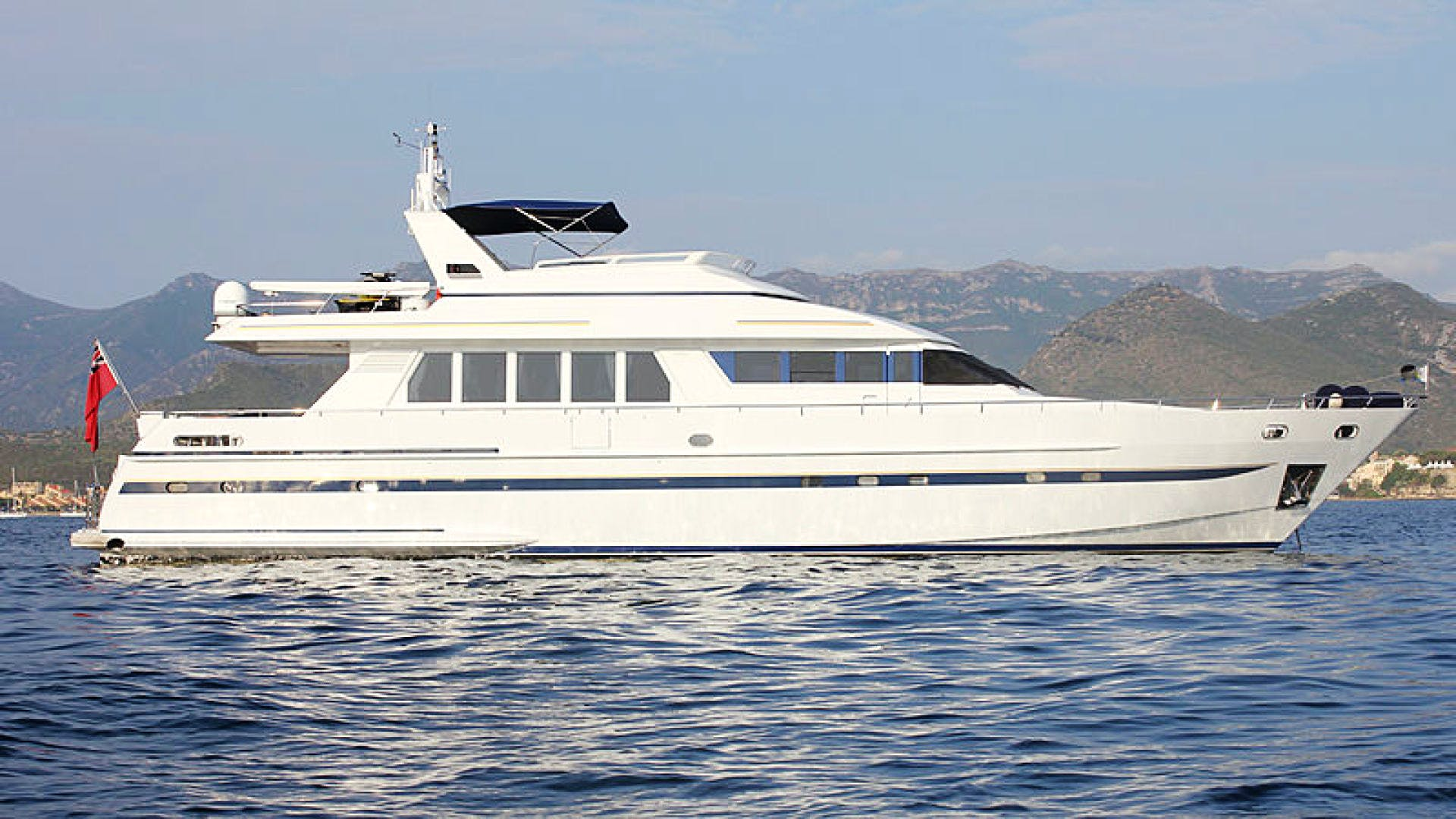 Moonen Yacht for Sale HAPPY DAZE profile